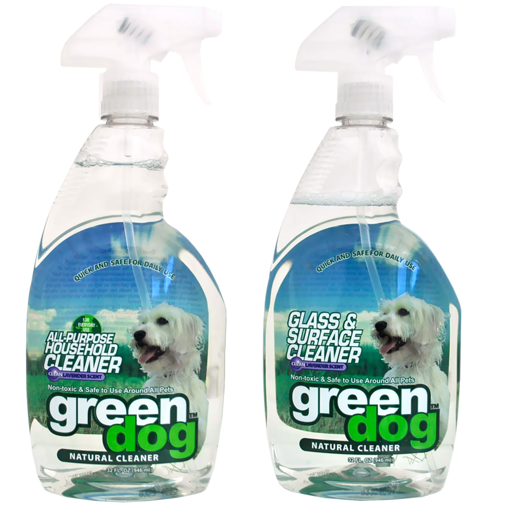 Green Pet  All-Purpose Cleaner + Glass & Surface Cleaner Combo Pack