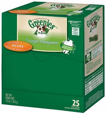 GREENIES Weight Management Mini-Me - Merchandiser Petite (25 count)