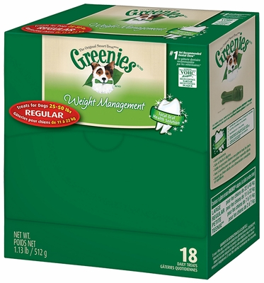 GREENIES Weight Management Mini-Me - Merchandiser Regular (18 count)