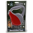 Guardian Gear Comfort Grip Retractable Leads - Red/Grey UP TO 60 lbs.