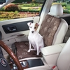 Guardian Gear Pawprint Single Seat Car Seat Cover - Chocolate (3.3x13x12 In)