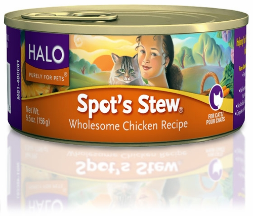 HALO Spot's Stew Wholesome Chicken Cat Food (5.5 oz)