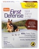 Hartz First Defense Flea & Tick for Dogs - 89-132 lbs