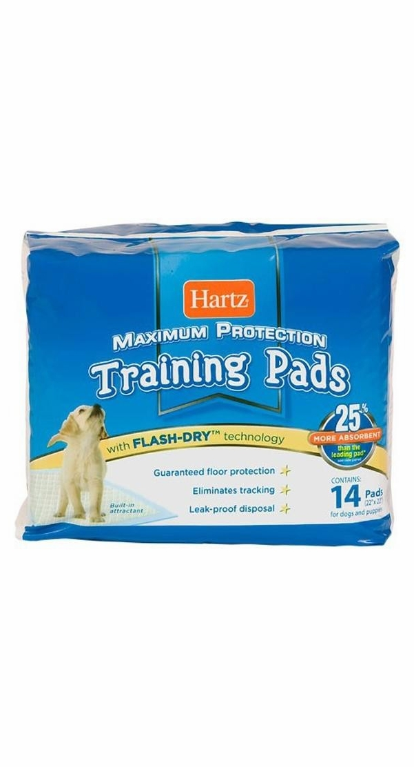 Hartz Maximum Protection Training Pads (14 ct)