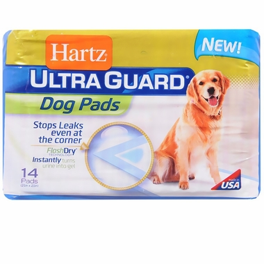 Hartz Ultraguard Dog Pads (14 count)