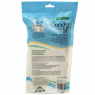 "Healthy Hide Good 'n Fit Dental Bones 4"" (5 pack)"