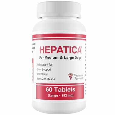 Hepatica™ for Medium & Large Dogs (60 Tablets)