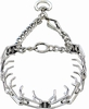 "Herm Sprenger Chrome Plated Prong Training Collar with Quick Release 16"" - Small 2.25mm"