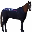 Hidez Horse Compression Suits - BLACK (56 - 57 3/4 inches)