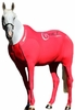 Hidez Horse Compression Suits - RED (56 - 57 3/4 inches)