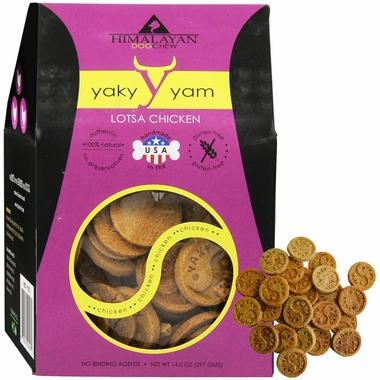 Himalayan Dog Chew - Yaky Yam Strength (4 oz)