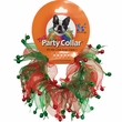 "Holiday Party Collar - Xmas Jingle Bells - Small (10"")"