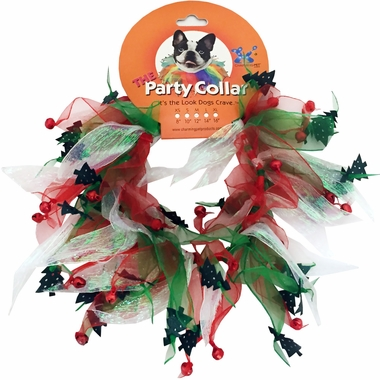 Holiday Party Collar - Xmas Tree - Small (10