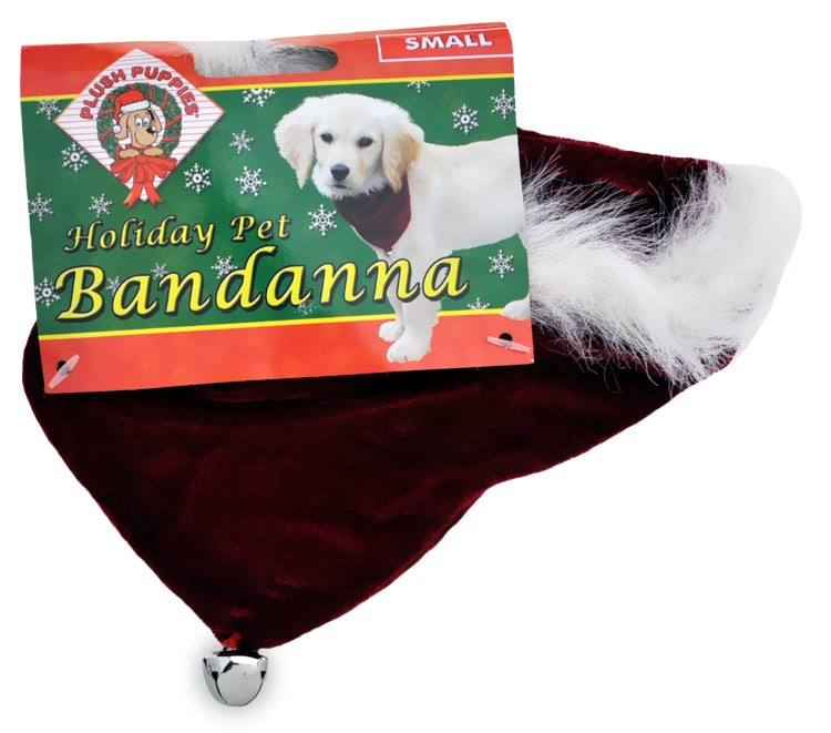 Holiday Pet Bandanna - SMALL