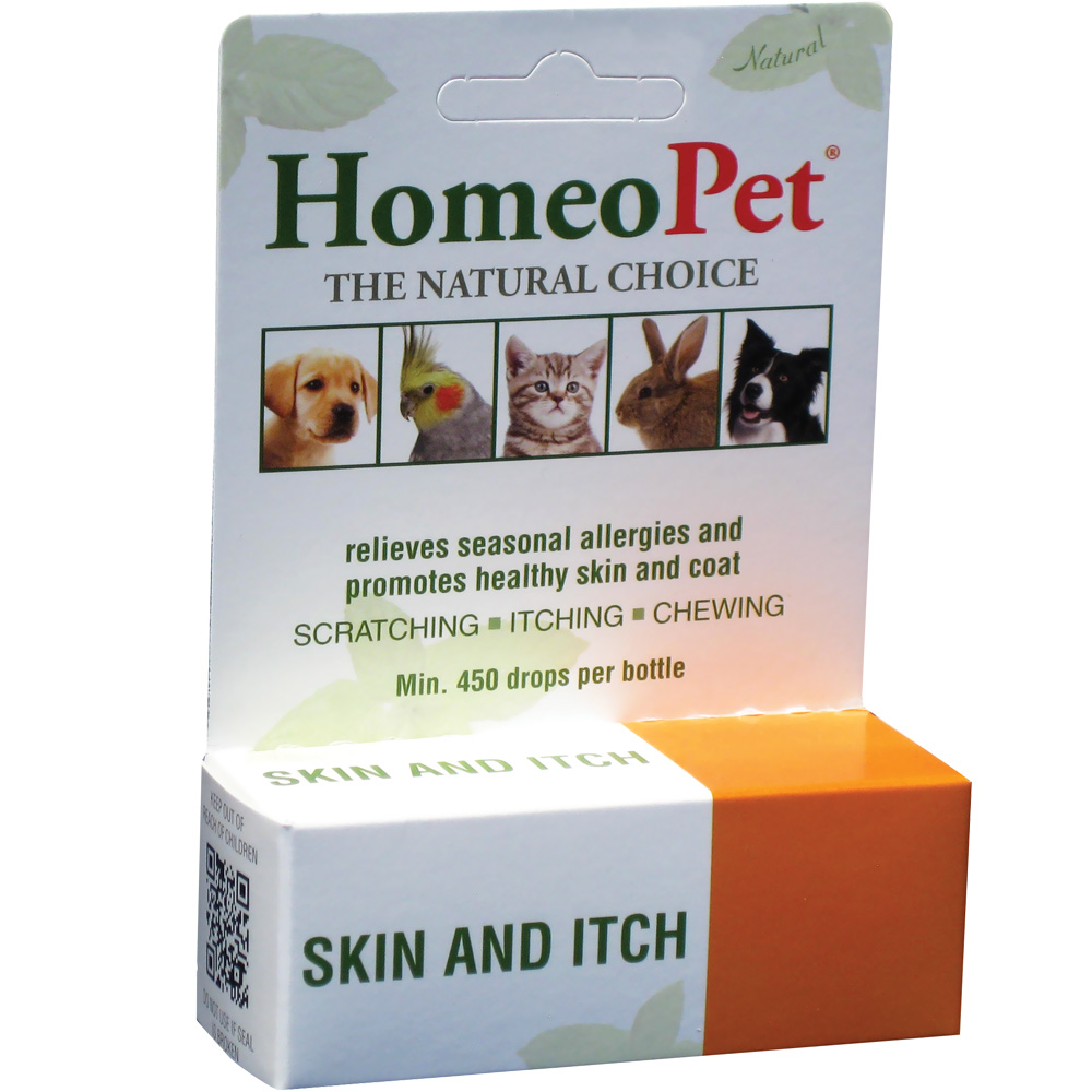 HomeoPet Skin and Itch Relief (15mL)