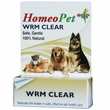 HomeoPet WRM Clear (15 mL)