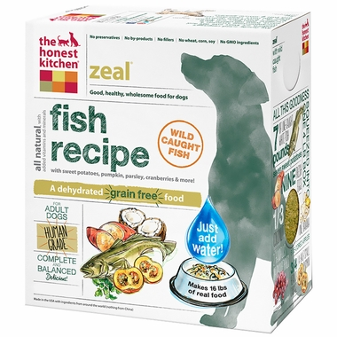 Honest Kitchen Zeal Dehydrated Grain-Free Fish Dog Food (10 lbs)