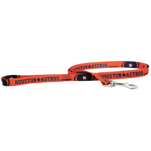 Houston Astros Dog Collars & Leashes