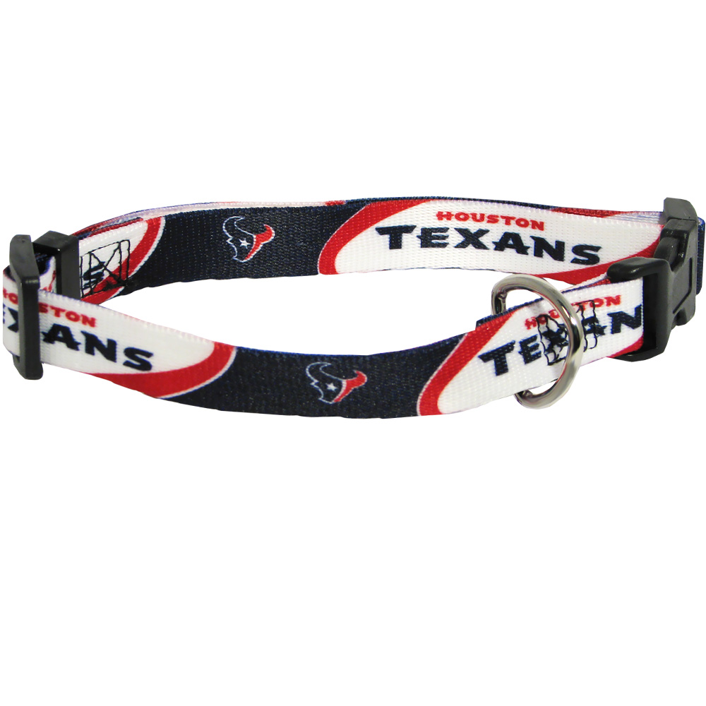 Houston Texans Dog Collars & Leashes