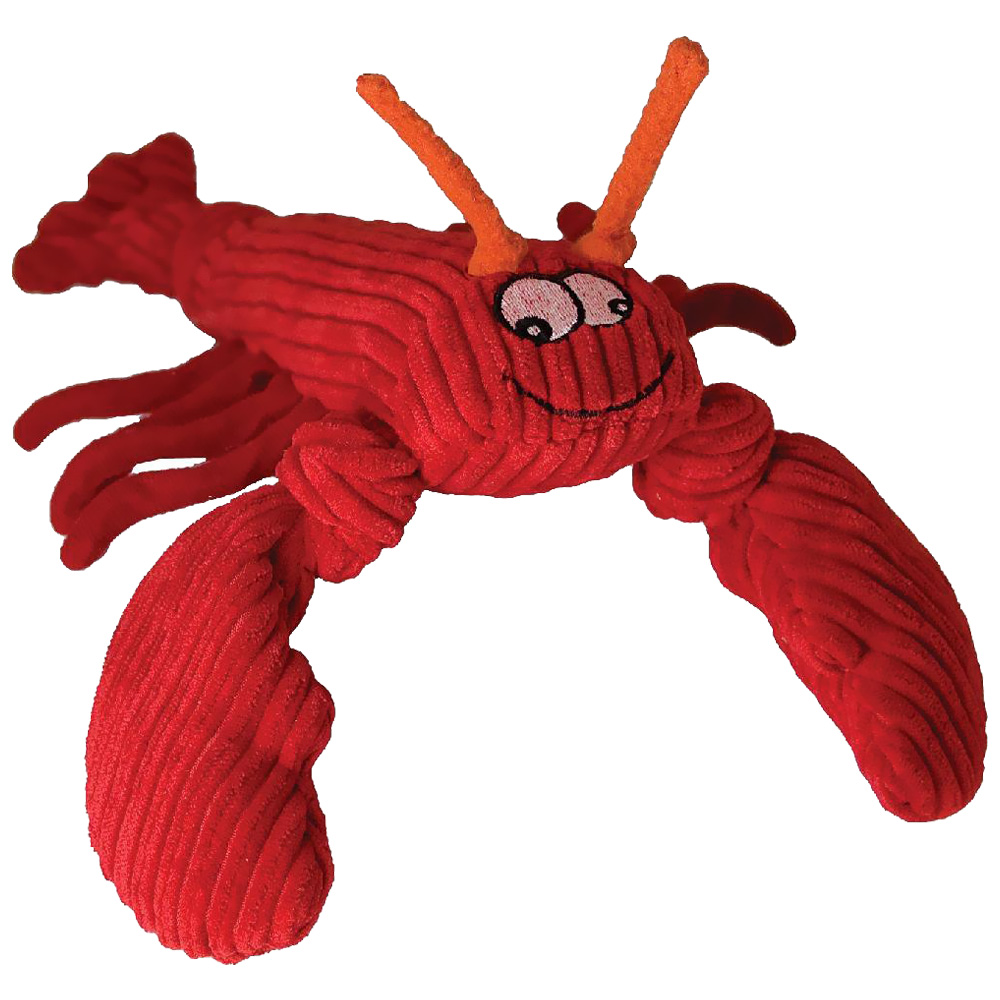 HuggleHounds Knotties Lobsta Dog Toy - Large