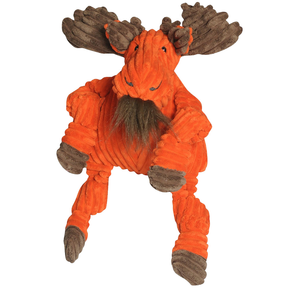 HuggleHounds Knotties Moose Dog Toy - Large