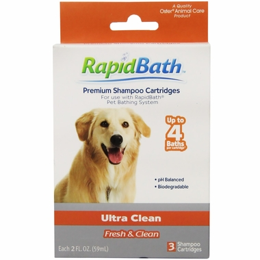 HydroSurge Rapidbath Shampoo Ultra Cleaning Cartridges (3 Pack)