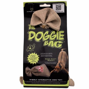 Hyper Pet Doggie Bag Interactive Dog Toy