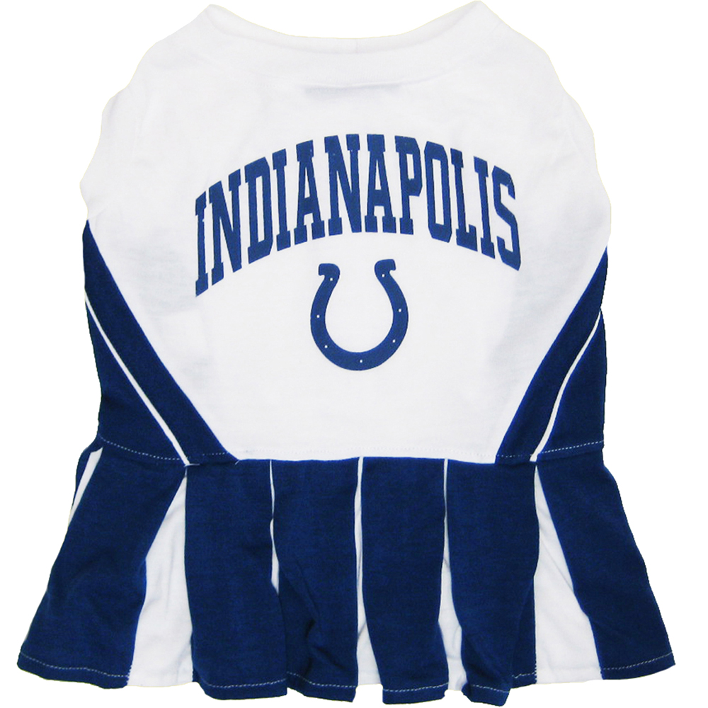 Indianapolis Colts Cheerleader Dog Dresses