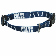 Indianapolis Colts Dog Collar - Large