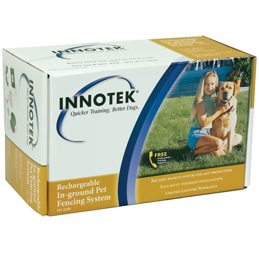 Innotek Rechargeable In Ground Pet Fencing Sd 2100