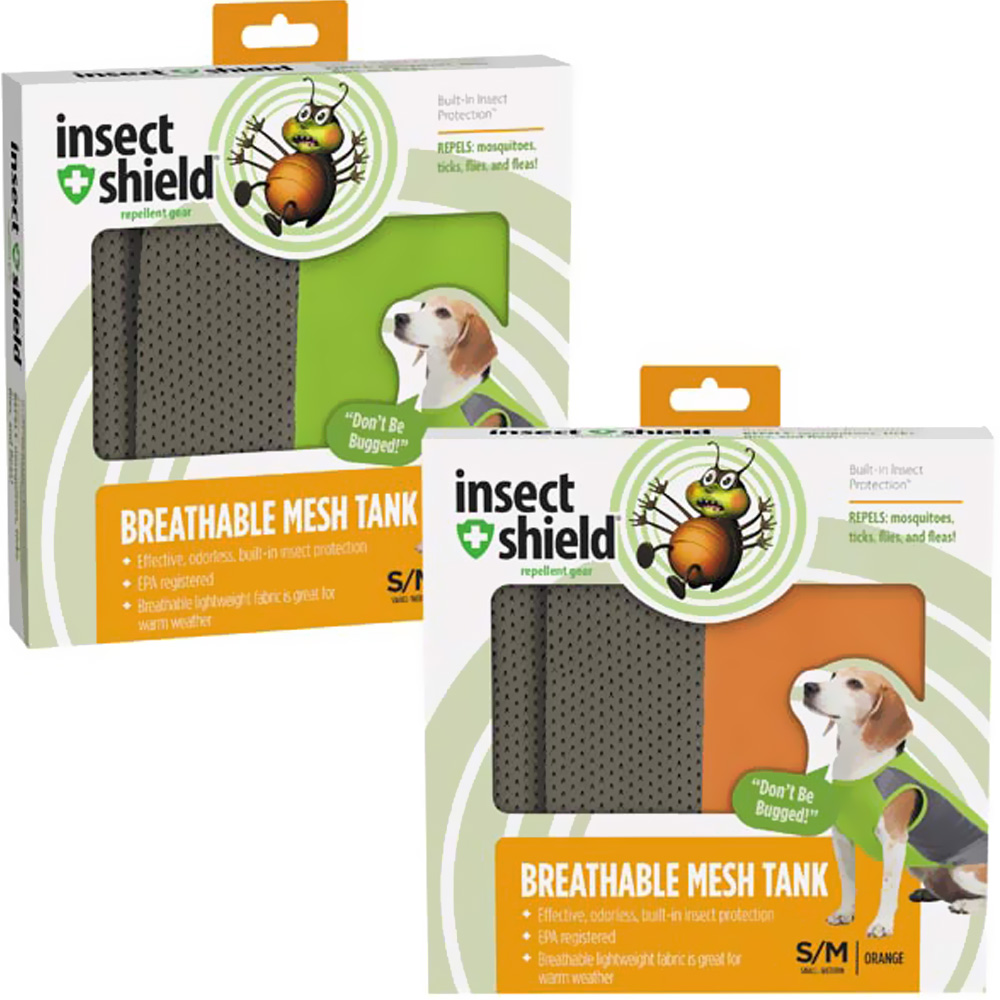 Insect Shield® Breathable Mesh Tanks