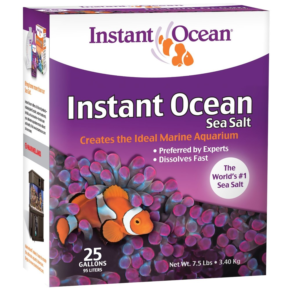 Instant Ocean Sea Salt (25 gal)