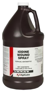 Iodine Wound Spray 1% (Gallon)