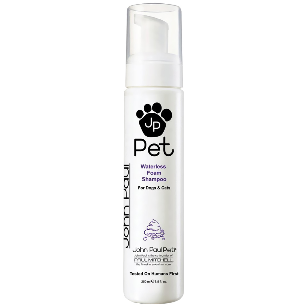 John Paul Pet Waterless Foam Shampoo (8.5 oz)