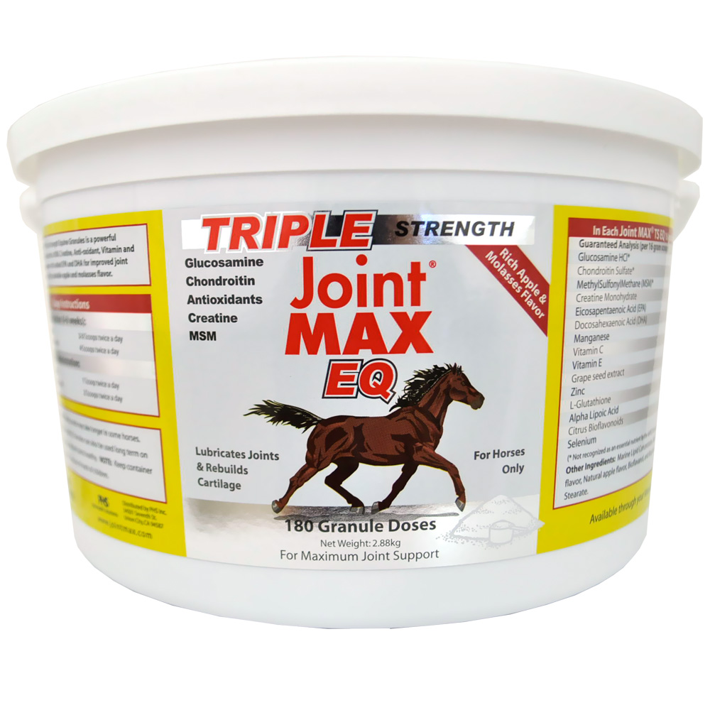 Joint MAX Triple Strength Equine Granules For Horses (180 Doses)