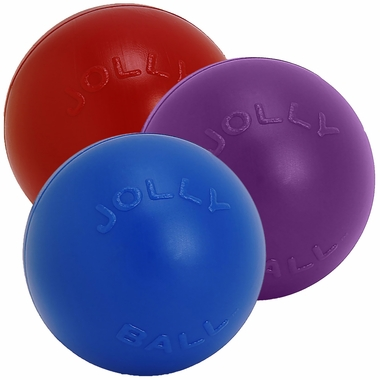 Jolly Pets Push-N-Play Jolly Ball (10 in)