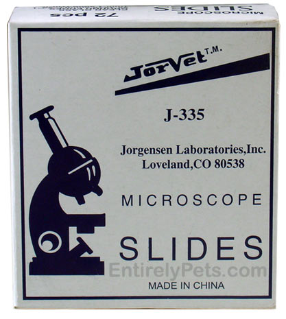 Jorvet Microscope Glass Slides J-335 (72 pcs)