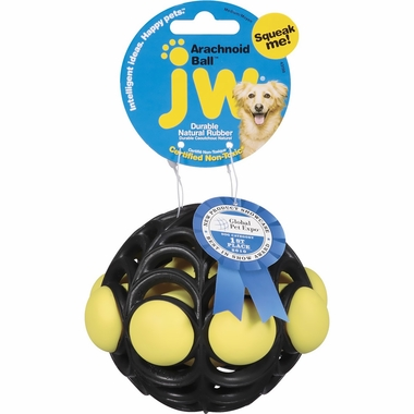 JW Pet Arachnoid Ball (Assorted Colors)