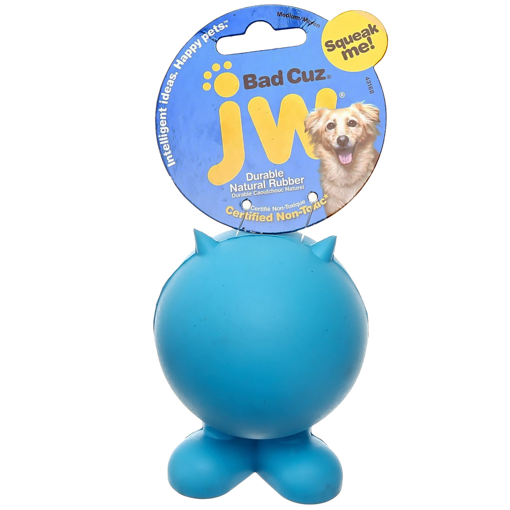 JW Pet Bad Cuz Dog Toy - Medium (Assorted)