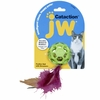 JW Pet Cataction Feather Ball with Bell Cat Toy