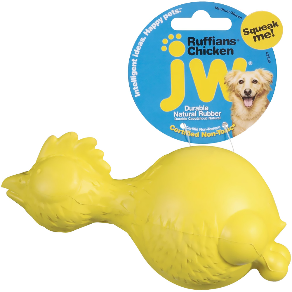 JW Pet Ruffians Chicken