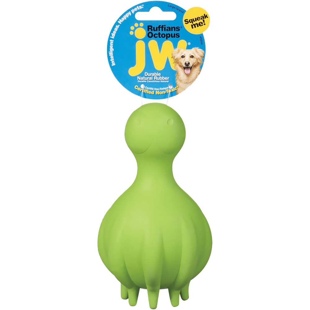 JW Pet Ruffians Octopus (Assorted)