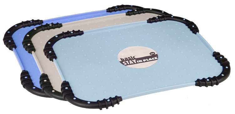JW Pet Stay in Place Pet Food Mat - Assorted