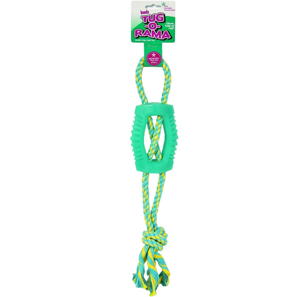 JW Pet Tug-A-Rama Rope Double Loop
