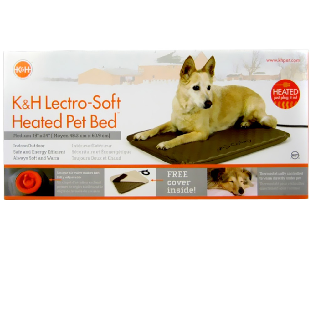 K&H Lectro Soft Heated Pet Bed (19