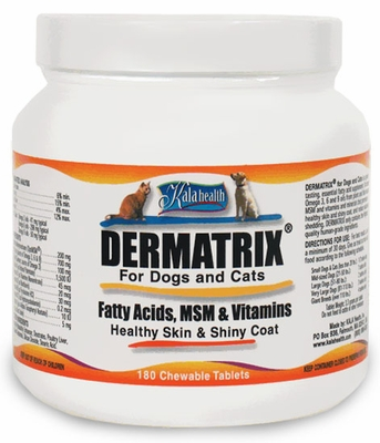 Kala Health Dermatrix for Dogs & Cats (180 Chews)
