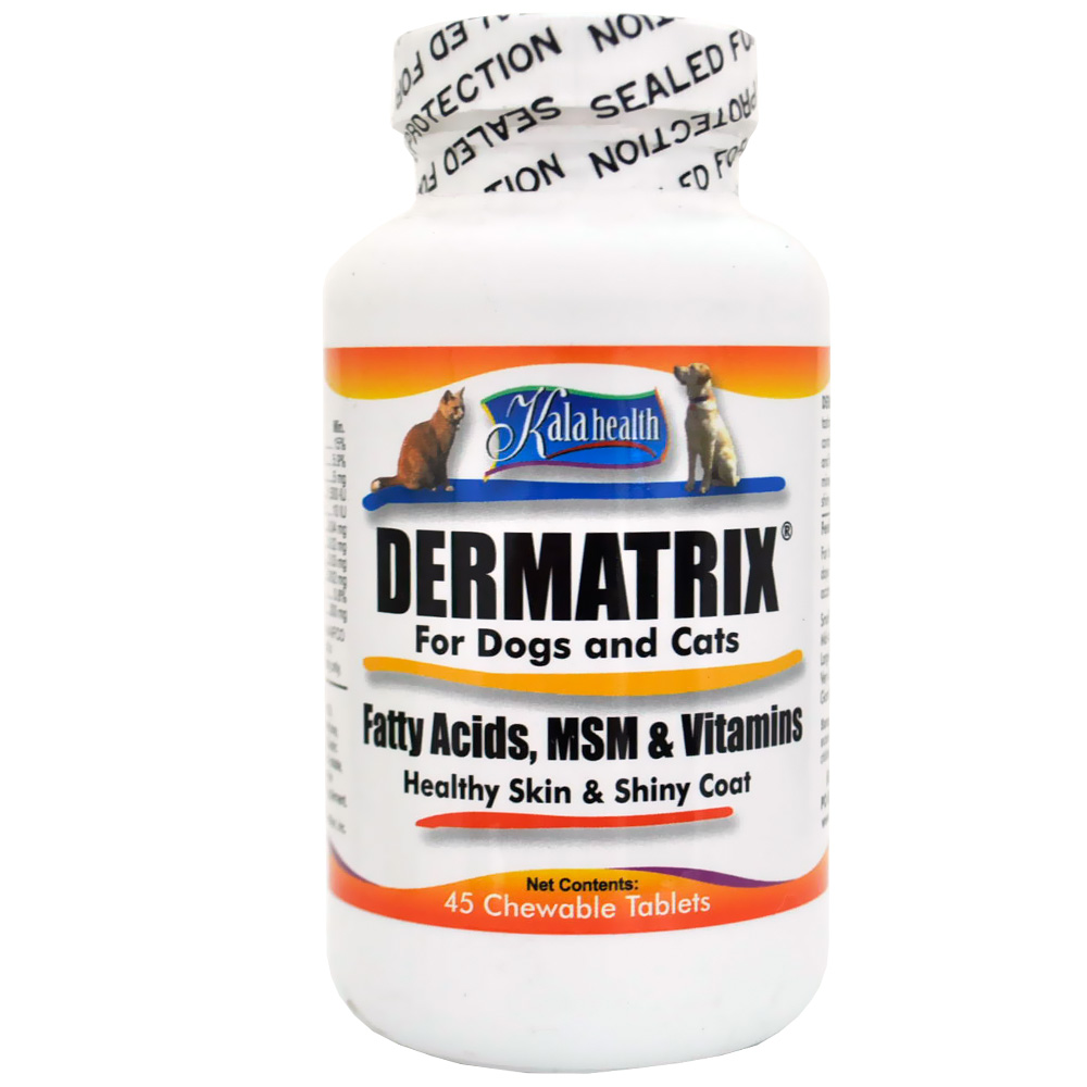 Kala Health Dermatrix for Dogs & Cats (45 Chews)