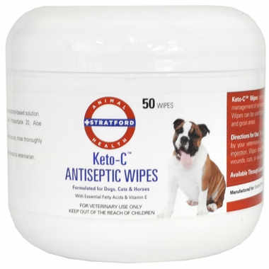 Keto-C Antiseptic Wipes (50 count)