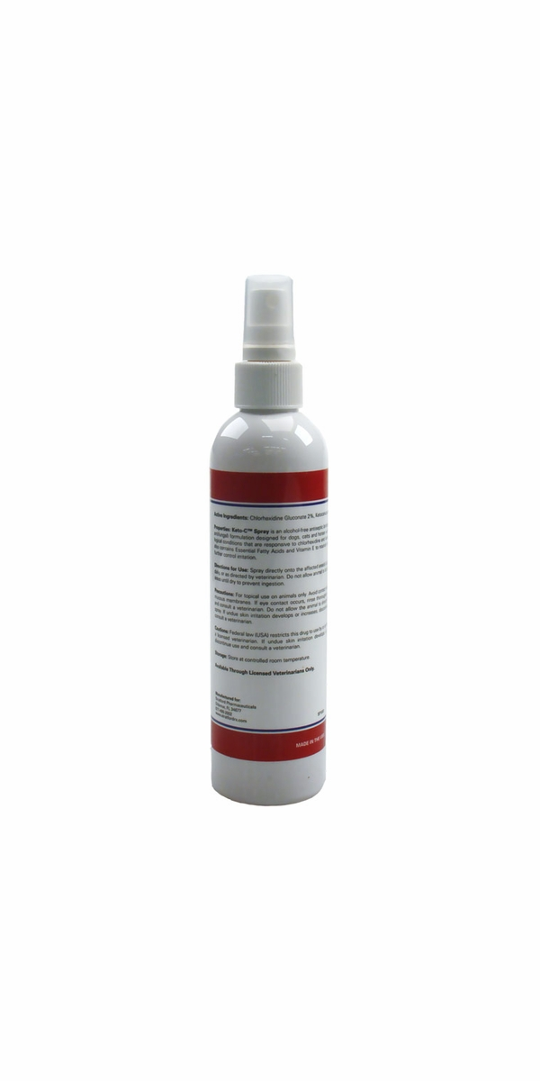 Keto-C Spray for Dogs, Cats & Horses (8 oz)