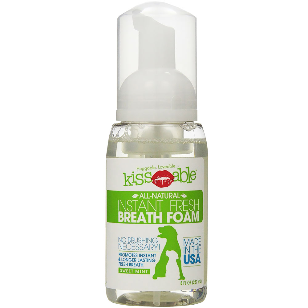 KissAble Instant Fresh Breath Foam for Cats (8 oz)